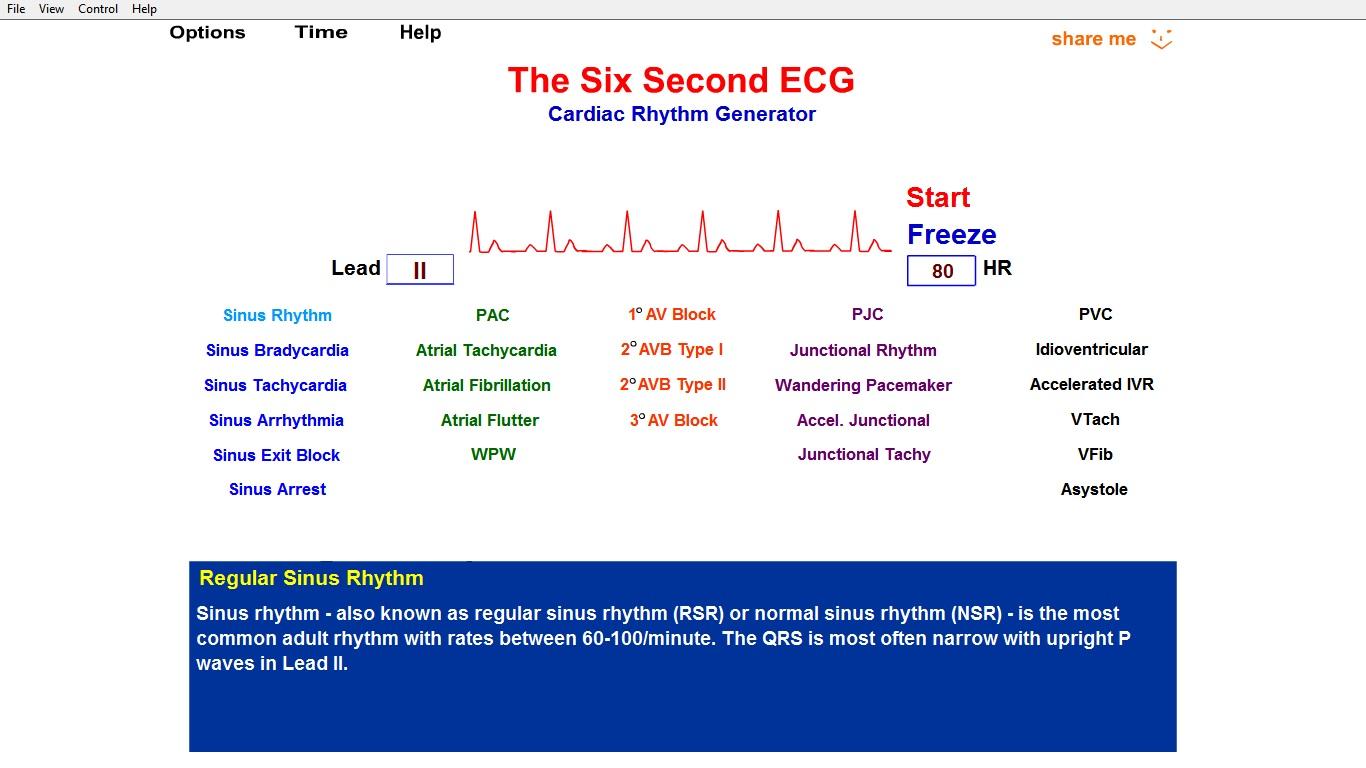 دانلود نرم افزار آموزشی ECG