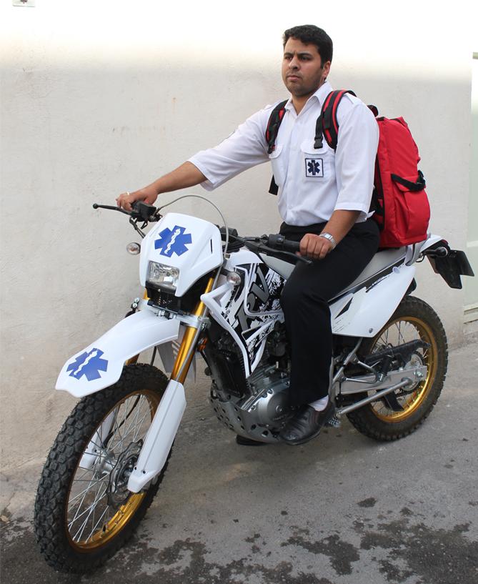 راه اندازی امدادموتوری کوهستان