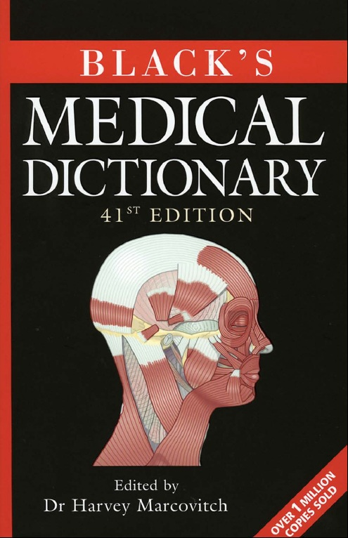 دانلود رایگان کتاب دیکشنری پزشکی بلک The Book Black's Medical Dictionary
